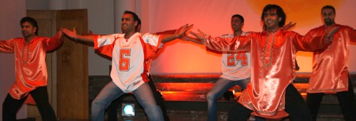 Nachda Sansaar Bhangra group at Bozar in 2006