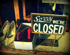 Sorry We're Closed by bluecinderella on Flickr