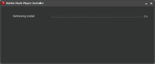 Flash player stuck by proxy