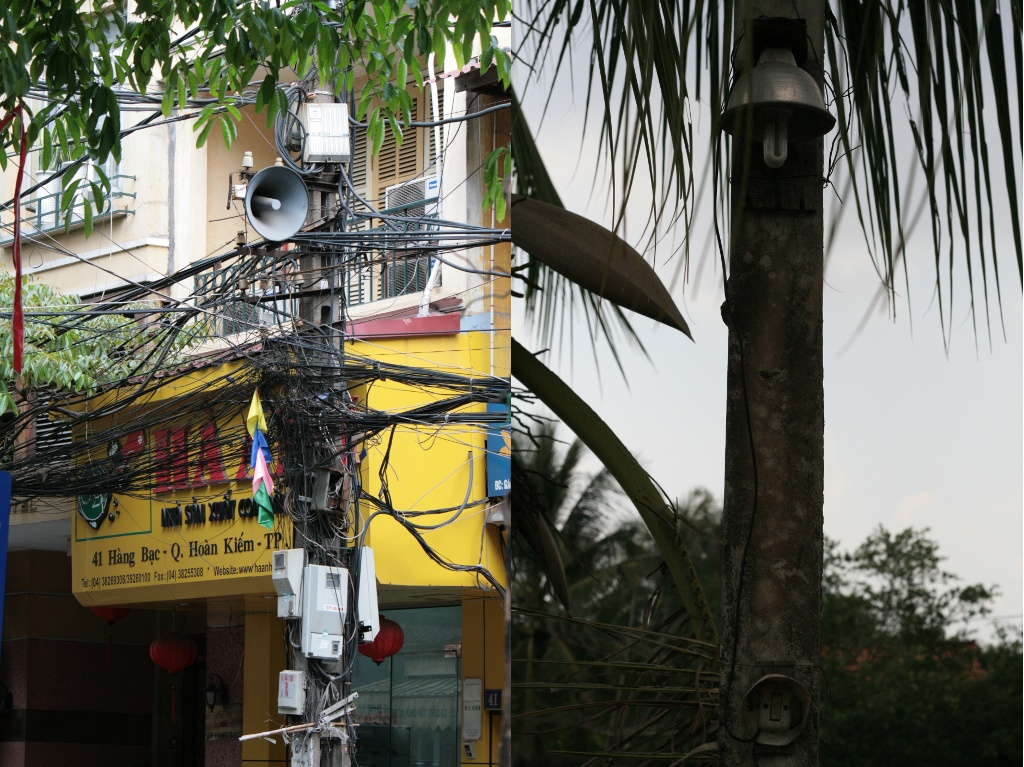 Electric connections in Vietnam